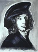 Radierung - Adelbert von Chamisso - 1670
