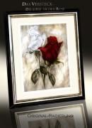 Rose / Radierung im Modellrahmen / Weißgold 1633