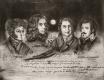 Radierung / Nordsternbund 1659