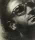 Bono U2 / Radierung