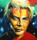 DAVID BOWIE Original-Acryl