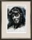 Charles Lindbergh / Gouache / Digitaldruck