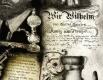 Radierung / Emil von Behring und Paul Ehrlich