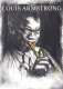 Louis Armstrong / Radierung ohne Rahmung