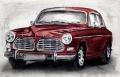 Volvo - Radierung